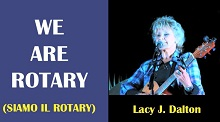 we are Rotary Lucy Dalton x HP
